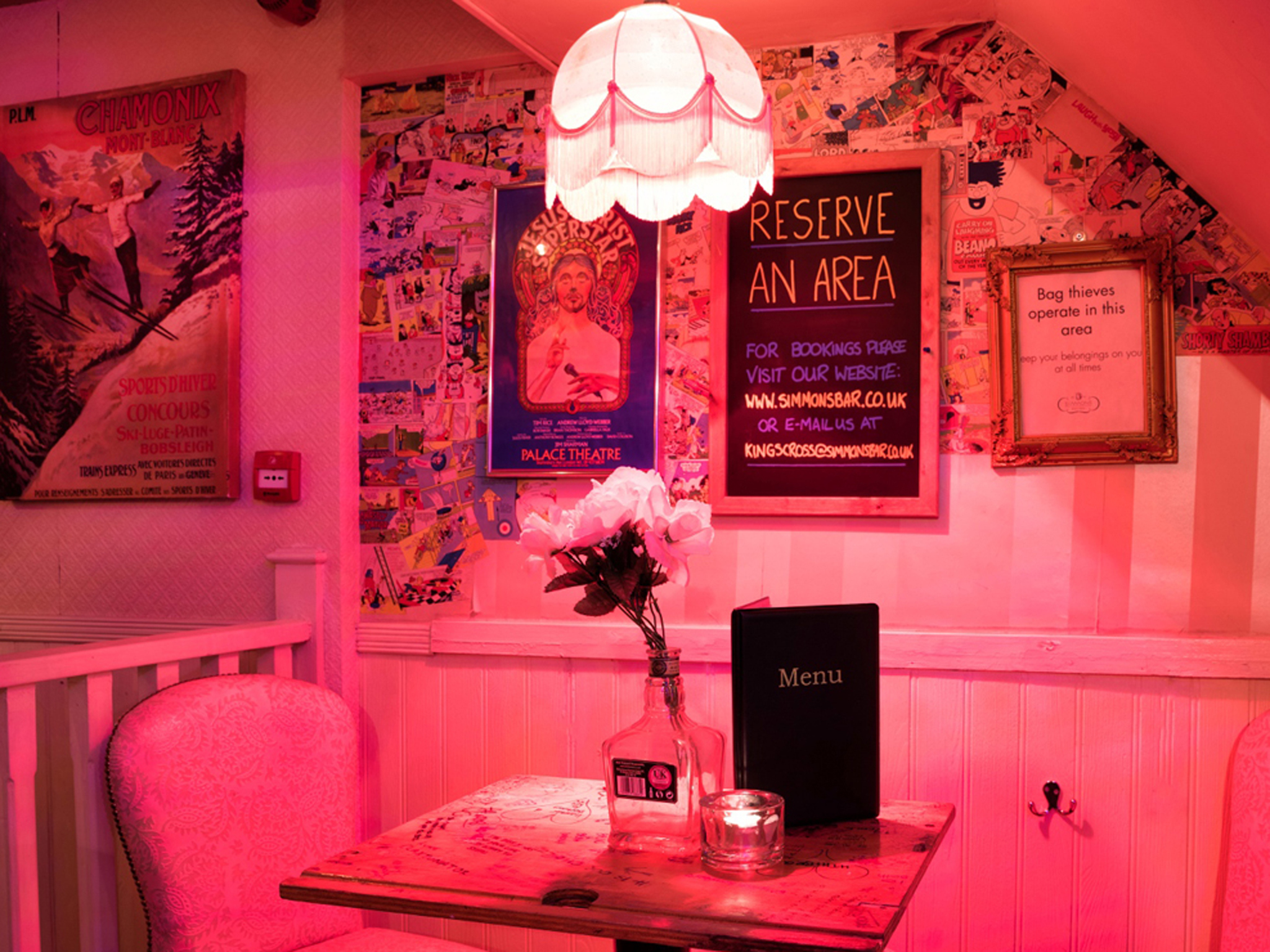 Late-night bars and pubs in London