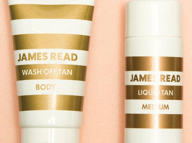 James Read fake tan