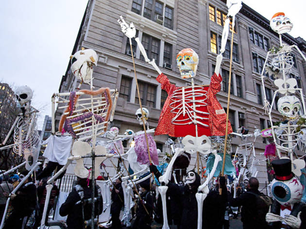 Halloween parades for kids in New York