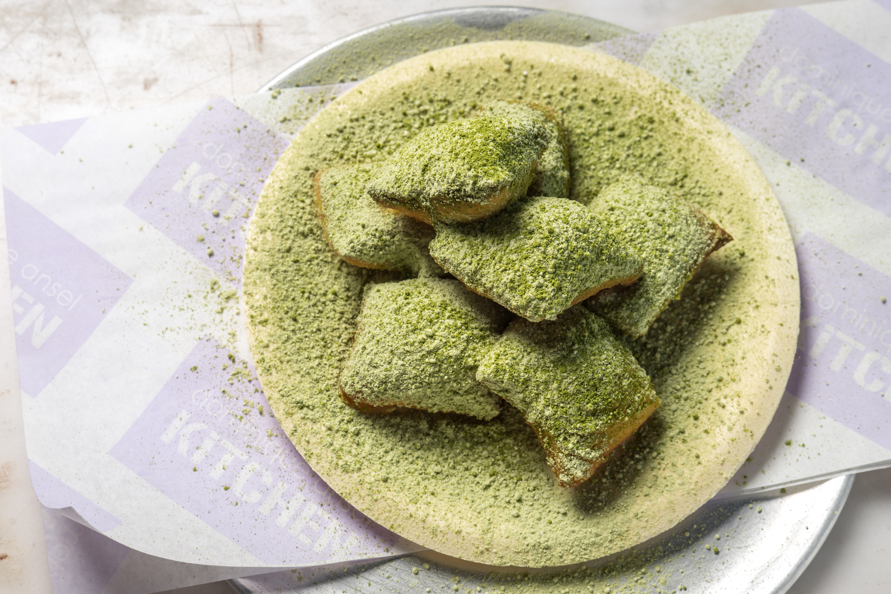 DOMINIQUE ANSEL KITCHEN matcha beignets