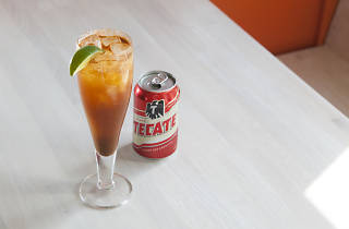 Michelada at Bar Takito