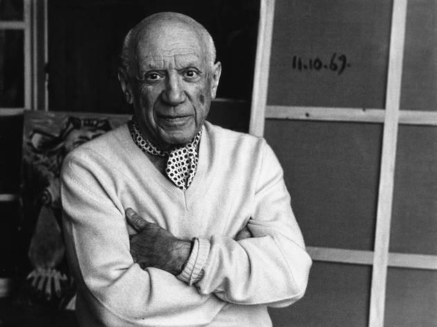 Lucien Clergue, Picasso à Mougins, 1969