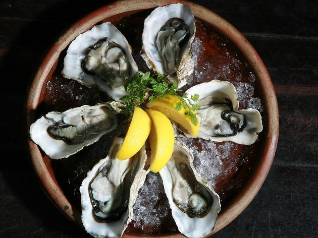 Oyster weekends at The Press Room Bistro