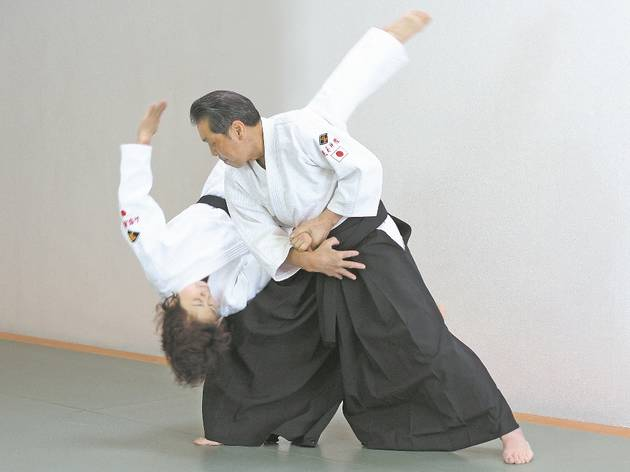 Aikido Yamanashi Yoshinkan international demonstration