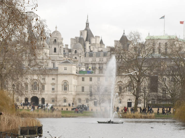 Tiffany Fountain, St James's Park