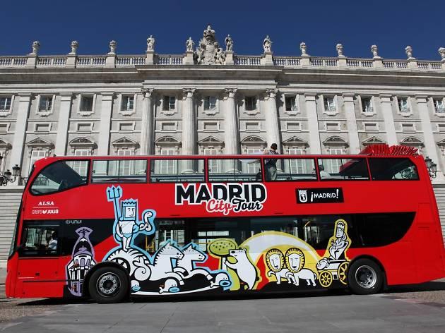Madrid City Hop-on Hop-off Tour