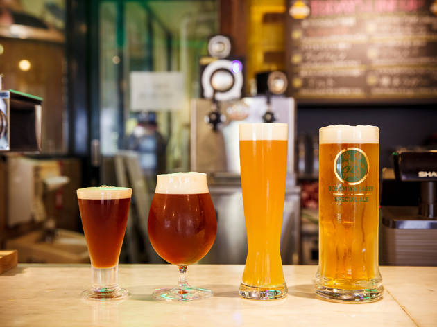 Sip on local craft beer…