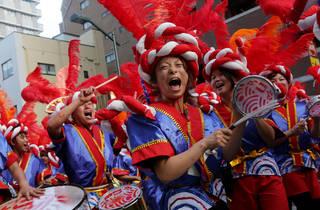 第34回 浅草サンバカーニバルパレードコンテスト