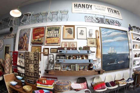 Mixed Nuts, a vintage furniture store in San Francisco
