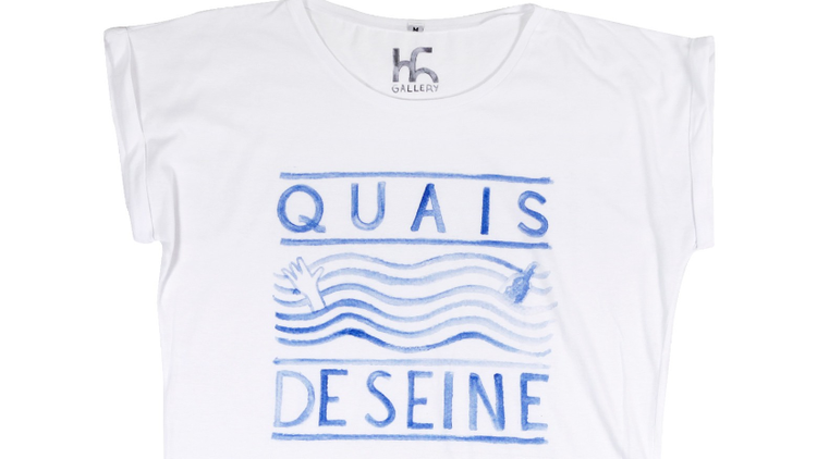 T-shirt Quai de Seine par TH Gallery 30 euros