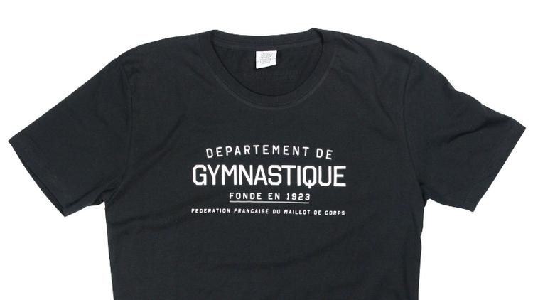 T-shirt Département de gymnastique par FFMC 35 euros