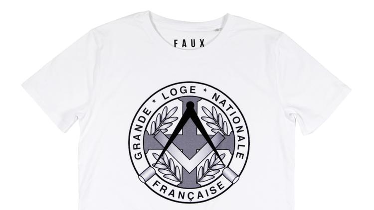 T-shirt Grande Loge par FAUX 20 euros