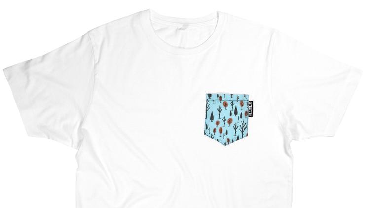 T-shirt Woodlland Pocket tee par Get Better 28,20 euros
