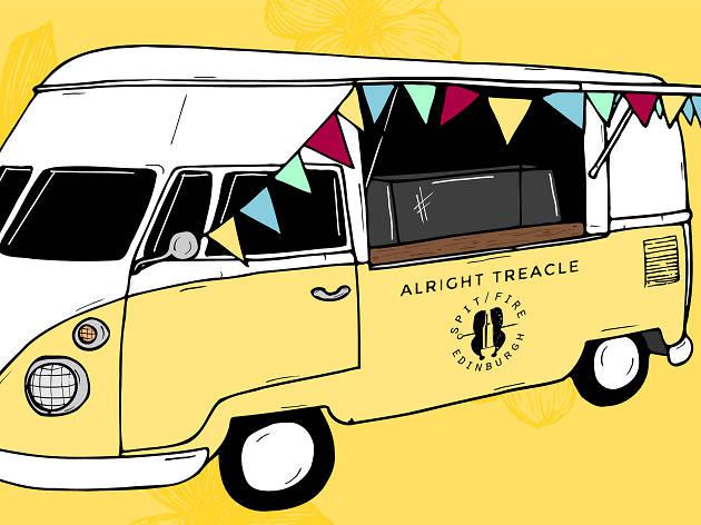 Alright Treacle van