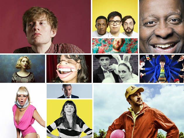 Comedy at the Edinburgh Festival Fringe 2015