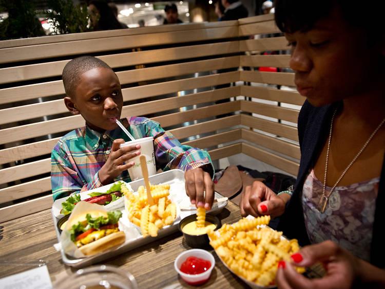 Kid-friendly restaurants in Chicago