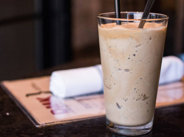 Espresso Milkshake at DMK Burger Bar, $6