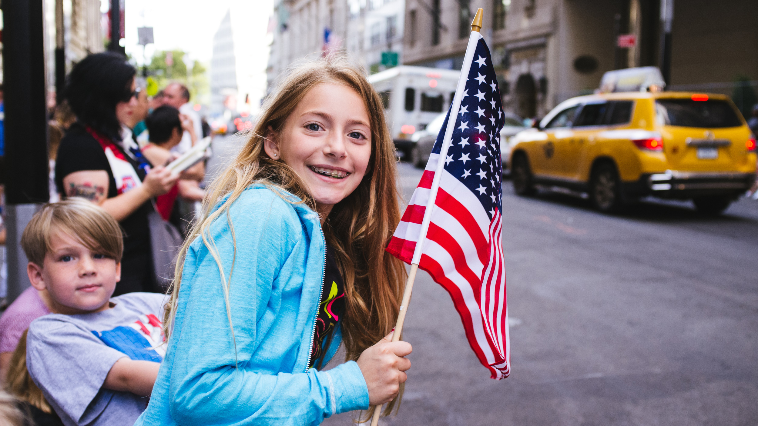 Parade for U.S. Women's National Team marches down the Canyon of Heroes