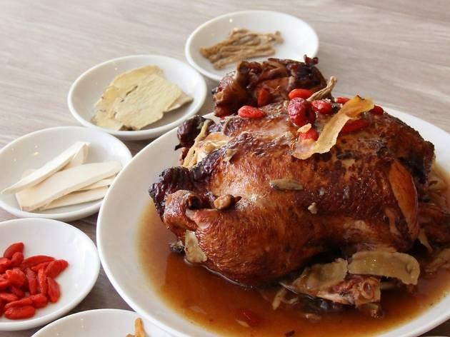 Beggar's Chicken at Si Chuan Dou Hua
