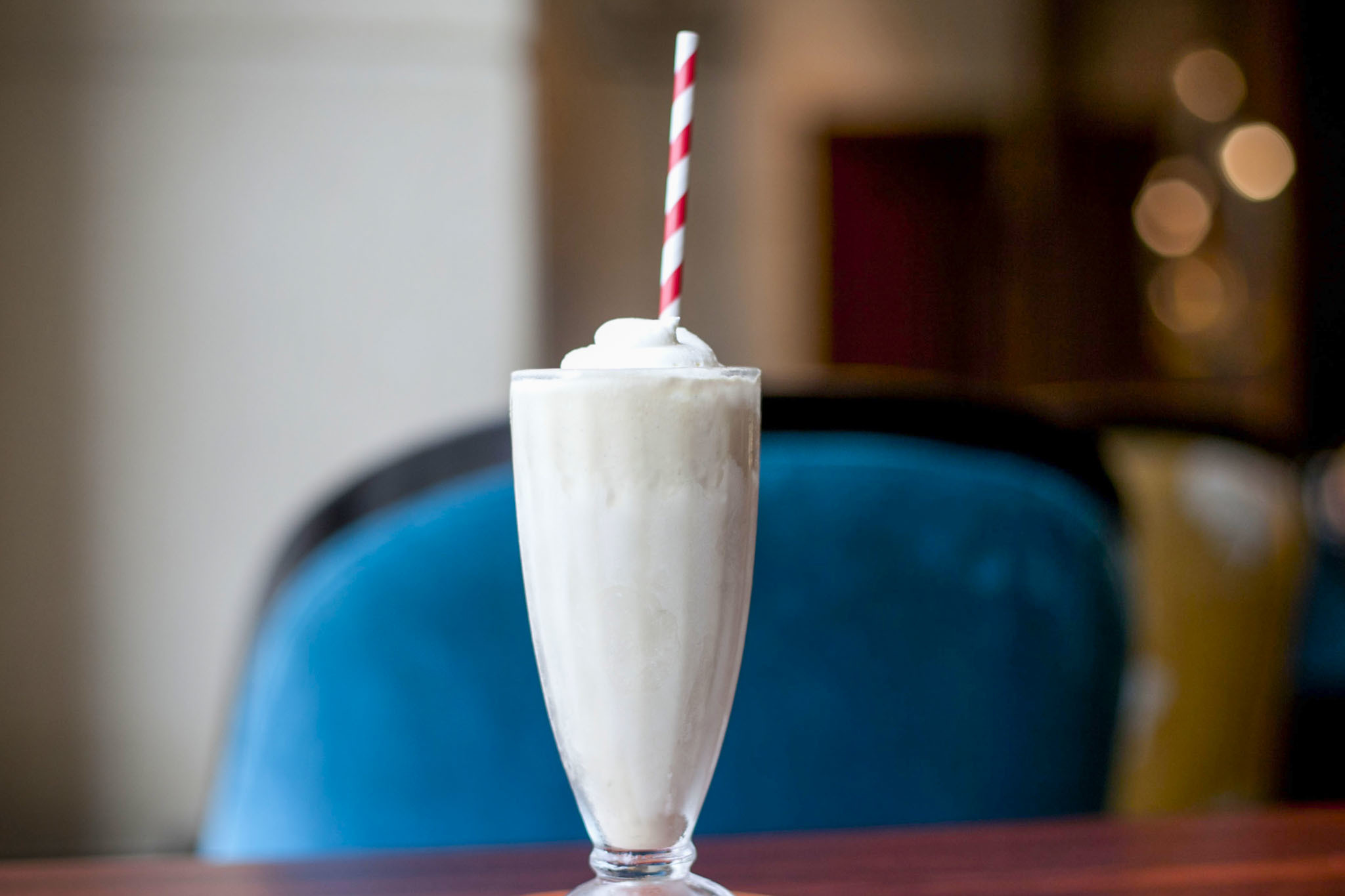 Miso-Butterscotch Milkshake at Allium, $8