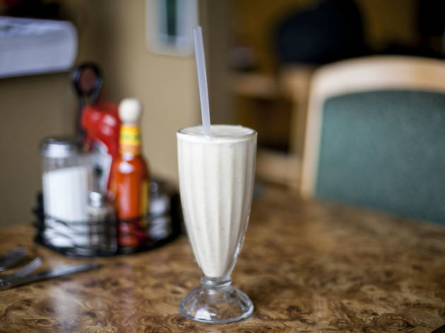 Original Creamy Oatmeal Milkshake at Tiztal Café, $5.49