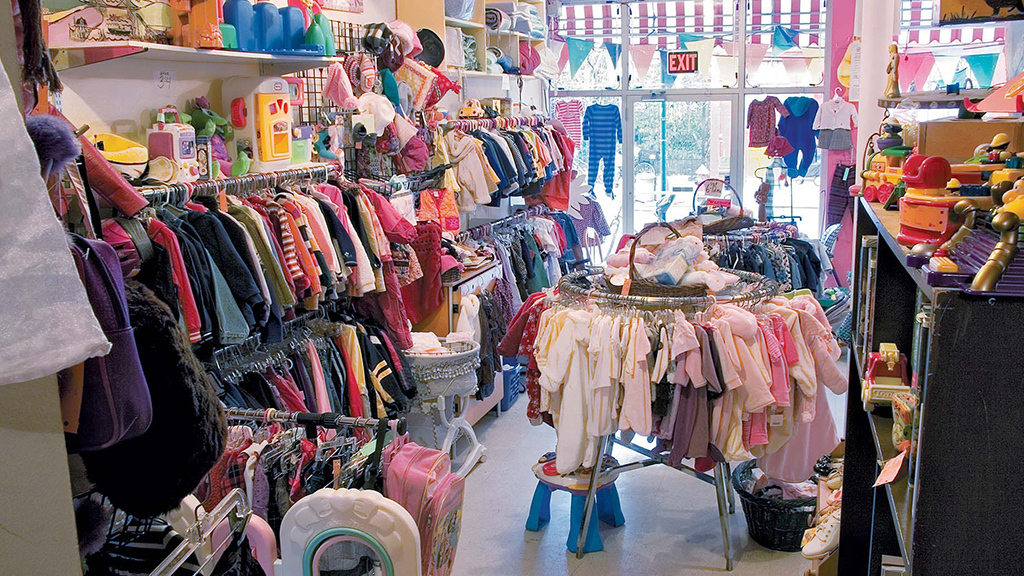 Kids consignment and thrift stores in NYC
