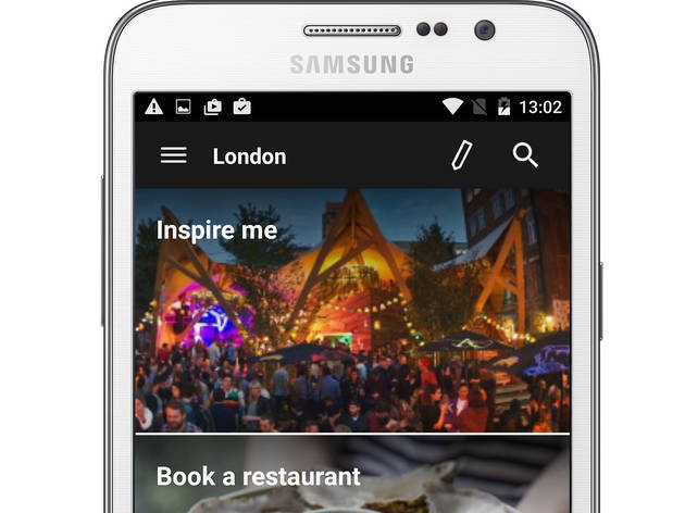 Time Out London app for Android