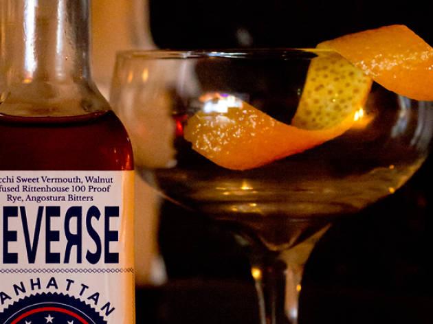 reverse manhattan cocktail