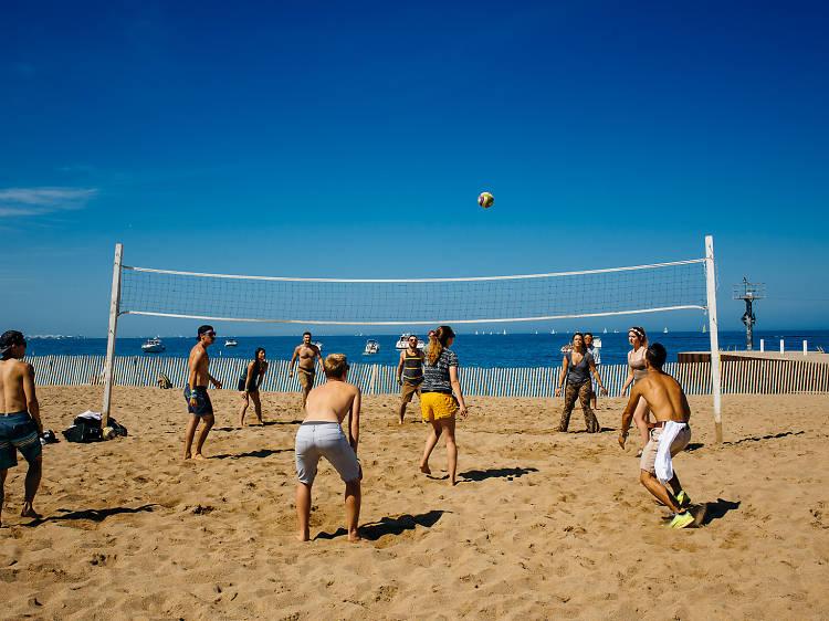 Kick back on the beach