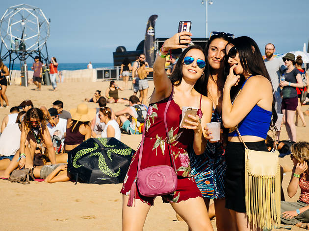 The inaugural Mamby on the Beach music festival brought electronic acts and DJs to Oakwood Beach on July 12, 2015.
