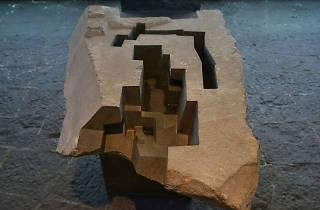 Jorge Yázpik en el Museo Diego Rivera Anahuacalli