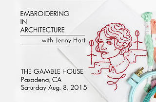 Embroidering in Architecture with Jenny Hart