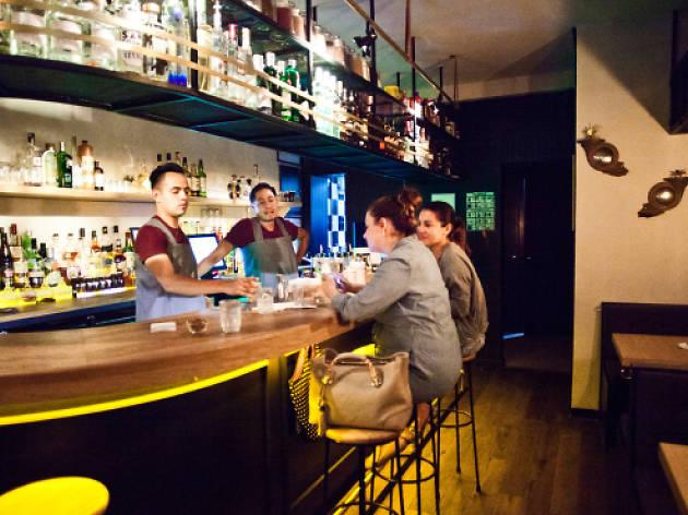 Antros y bares en la Condesa