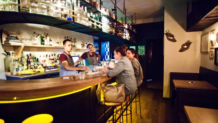 Baltra, uno de los mejores bares en la Condesa