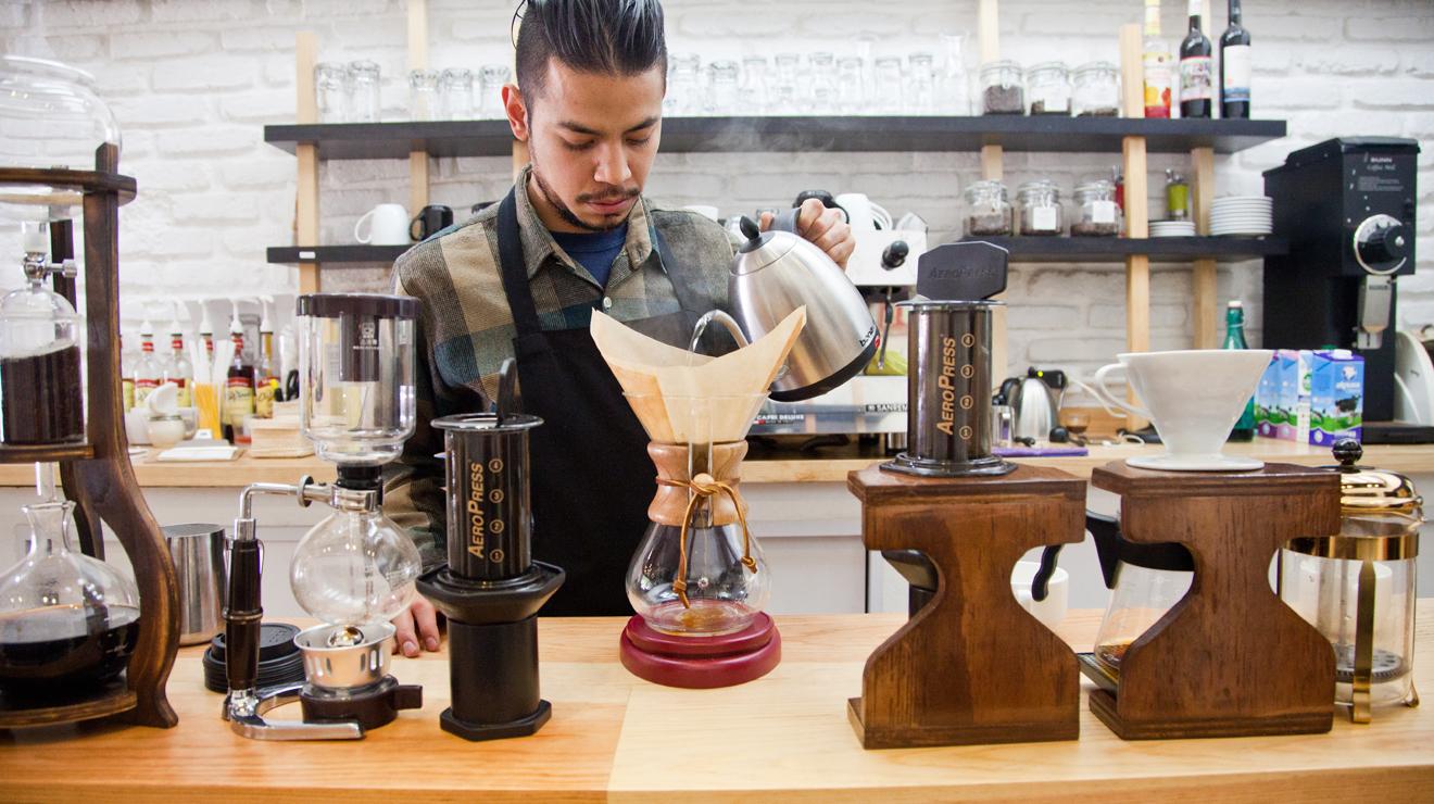 Cafés para una primera cita en el DF