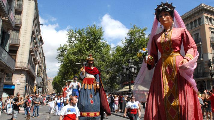 Gegants Festa Major del Raval