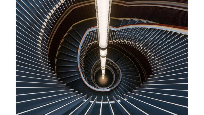 5 spiral staircase