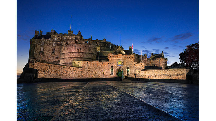 7 edinburgh castle