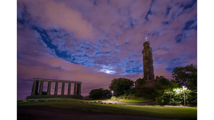 8 calton hill, monument, folly