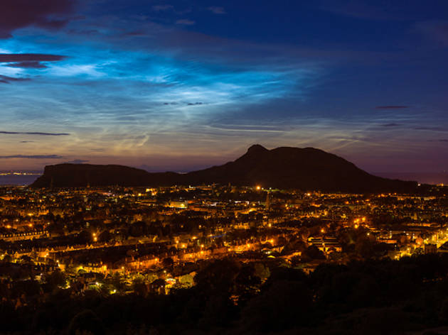 17 arthur's seat night