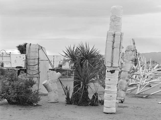 (Hannah Collins: ' The Interior and the Exterior - Noah Purifoy', 2014. © the artist)