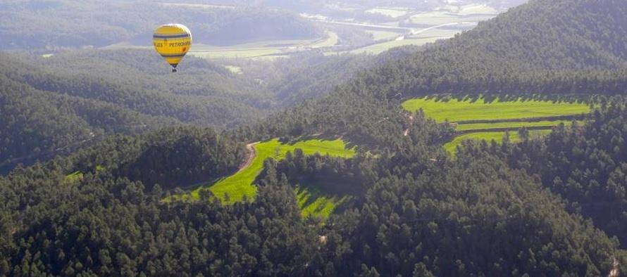 Vol en Globus Igualada