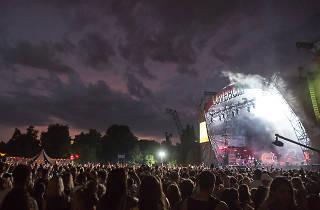 Lovebox music festival, London