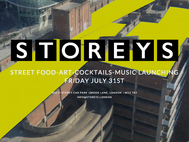 There's going to be a rooftop street food pop-up on top of the old BBC Television Centre