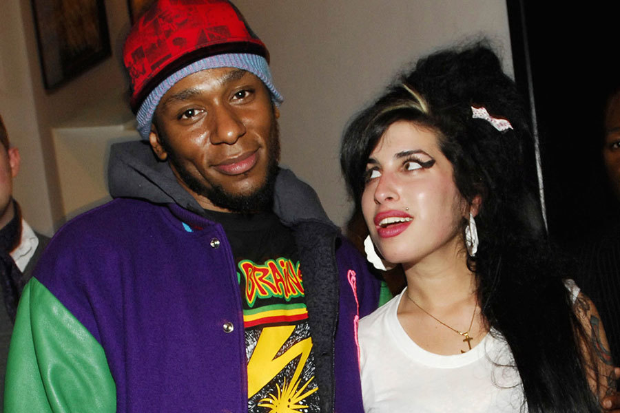 Con el amigo Mos Def