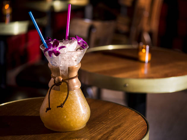 Tahitian coffee for two at Slowly Shirley