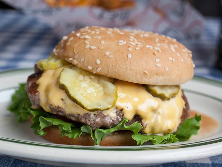 Bill's Burger at Bill's Bar and Burger
