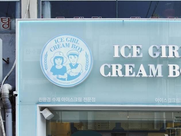 Ice Girl Cream Boy