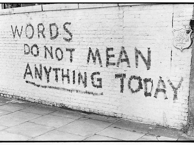 Art attack: political graffiti from the 1970's