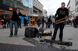 Birmingham talent takes part in first ever National Busking Day